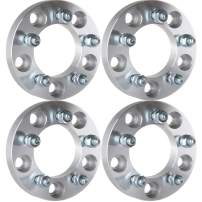 ECCPP Wheel Spacers 5 Lug, 4X 1 25mm 5x5 to 5x4.5 87.1mm 12x1.5 Studs Adapters for Dodge Grand Caravan Chrysler Town & Country 2008-2014