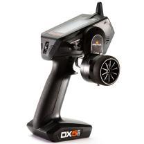 Spektrum DX5 Pro 5-Channel 2.4GHz DSMR Pistol Grip RC Tx/Rx Radio System with SR2100 Receiver | Steering Adapters | 4 x AA Batteries