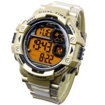 Lad Weather Digital Watch Stopwatch Lap time Split time Timer Camouflage Military Combat
