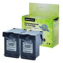 GREENCYCLE Remanufactured 61XL CH563WN High Yield Black Ink Cartridge for DESKJET 1000 1050 1512 2050 2548 3054 OFFICEJET 2620 4632 Envy 5534 4501 5532 Printer (Black,2 Pack)