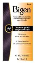 #96 Deep Burgundy Bigen Permanent Powder - 12 Pack