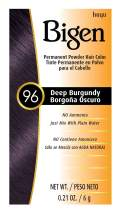 #96 Deep Burgundy Bigen Permanent Powder - 3 Pack