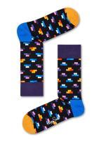 Happy Socks Brick Sock Black,Blue,Pink,Purple,White,Yellow 36-40