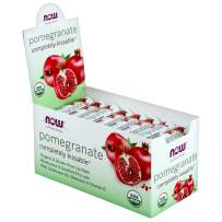 NOW Solutions, Completely Kissable Lip Balm, Pomegranate Flavor, with Sunflower Oil, Beeswax and Vitamin E, 32/Box