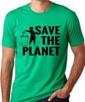 Think Out Loud Apparel Save The Planet Atheist Shirt Atheism T-Shirt