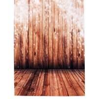 MOHOO 5x7ft Photography Background Nostalgia Wood Floor Pattern Photo Backdrop Studio Props Silk