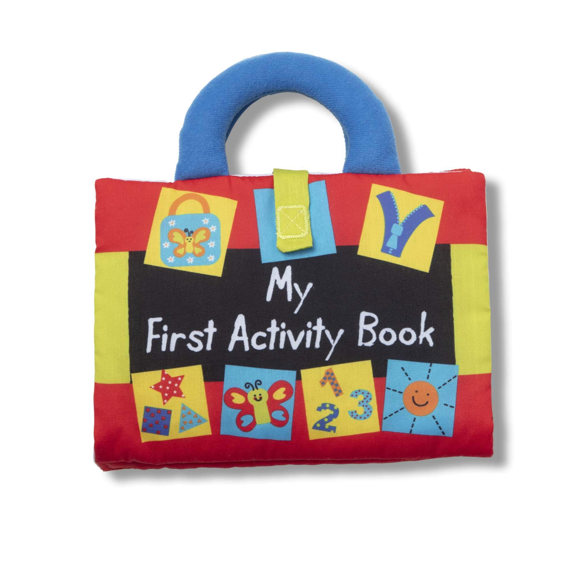 Melissa & Doug K'S Kids My First Activity Book 8-Page Soft Book for Babies & Toddlers