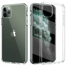 TiMOVO Compatible with iPhone 11 Pro Case, Hybrid PC Hard Panel TPU Bumper Anti-Scratch Shockproof Slim Cover for iPhone 11Pro 5.8 inch 2019 - Clear