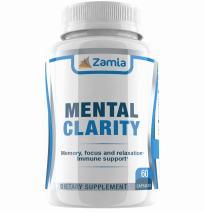 Ayurvedic Memory, Focus, Calm - Bacopa Monnieri, Ashwagandha, Shankhpushpi Capsules - Mood and Brain Support
