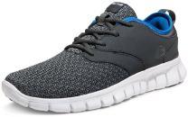 TSLA Men's Boost Running Walking Sneakers Performance Shoes