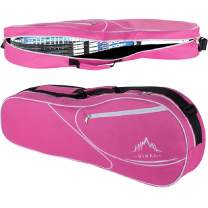 Himal 3 Racquet Tennis-Bag Premium Tennis-Racket-Bag with Protective Pad,Professional or Beginner Tennis Players, Lightweight Tennis Bag for All Ages