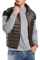 CROSS1946 Men's Essentials Lightweight Jacket Down Water-Resistant Warm Packable Puffer Jacket