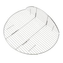 Onlyfire BBQ Solid Stainless Steel Rod Foldable Cooking Grates for Grill, Fire Pit, 30-inch