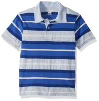 The Children's Place Boys' Big Short Sleeve Stripe Polos