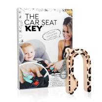 The Car Seat Key by NAMRA Made in USA (1 Pack, Leopard)