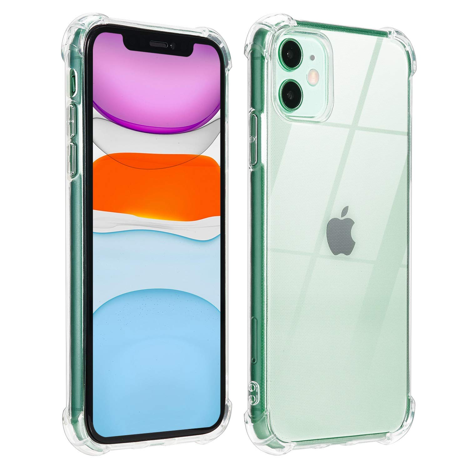 JESOHO Compatible with iPhone 11 Case, Ultra Slim Thin Hard PC Protective Cover Case for iPhone 11 Shockproof Clear Case Cover for iPhone 11 6.1 inch