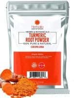 Turmeric Powder, 16 oz, Ground, Raw, Curcumin, Antioxidants, non-GMO, Keto, Vegan, Paleo, Indian Origin