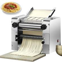 NEWTRY 2200W Electric Commercial Pasta Maker Machine Dumpling Dough Noodle Skin Maker Noodle Pasta Spaghetti Roller Pressing Machine for Fettuccini Lasagna Dumpling Skins (Round noodles blade 2mm)
