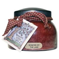 A Cheerful Giver Bonfire by The Lake 22 Ounce Mama Jar Candle, 22oz