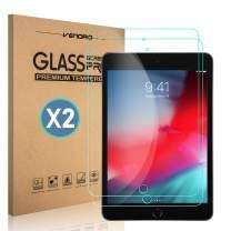 [2 Pack] Venoro iPad Mini 5 Screen Protector, iPad Mini 4 Screen Protector, 9H Hardness Anti-Scratch, Anti-Fingerprint HD Tempered Glass Screen Protector for Apple iPad Mini 5 2019/iPad Mini 4