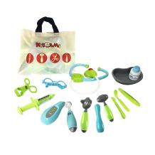 Kidami Pretend Doctor Kit Playset for Kids, Medical Equipments with a Handy Storage Bag