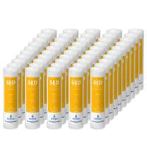 Express Water FLTSED0150 – 50 Pack Sediment Water Filter Replacement – 1 Micron, High Capacity – 10 inch – Under Sink and Reverse Osmosis System