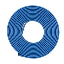 uxcell Heat Shrink Tubing, 14mm Dia 23mm Flat Width 2:1 Heat Shrink Wrap Cable Sleeve Heatshrink Tube 1m Blue