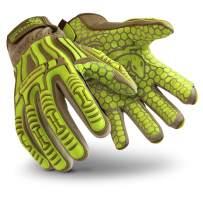 HexArmor Rig Lizard 2030 Firm Grip Impact Work Gloves, Large