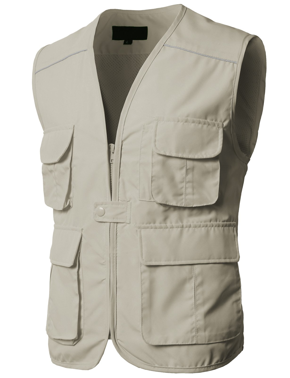 H2H Mens Casual Work Utility Hunting Travels Sports Vest with Multiple Pockets