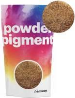 Hemway Pigment Powder Colour Luxury Ultra-Sparkle Dye Metallic Pigments for Epoxy Resin, Polyurethane Paint (Metallic Sparkle Copper, 100g / 3.5oz)