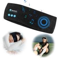 Bluetooth Sleep Headphones/Headband-Wireless Sports Headband Headphones with Ultra-Soft Music Headband-Perfect Sleeping Headphones for Side Sleepers, Running, Yoga, Insomnia, Travel Gift for Men Women