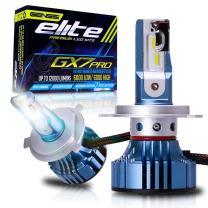 GX7 Pro LED Conversion Kit Bulbs for Headlights H4 9003