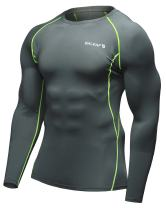 BALEAF Men's Cool Dry Skin Fit Long Sleeve Compression Shirt