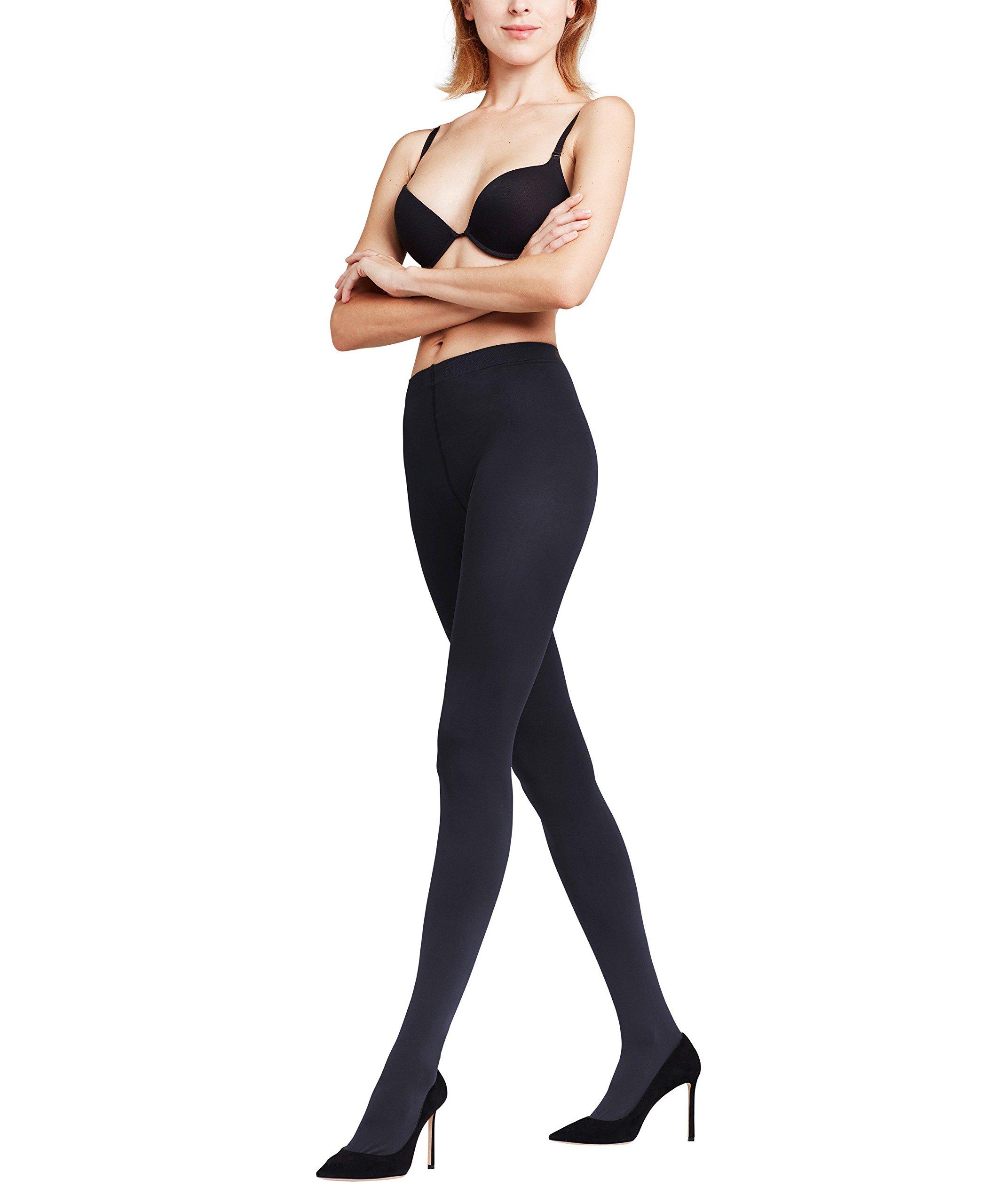 FALKE Women Pure Matt 100 DEN Tights - Opaque, Matt, Sizes S to XL, 1 Pair - Warm, ideal for wintery business or casual looks
