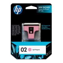 HP 02   Ink Cartridge   Lite Magenta   C8775WN
