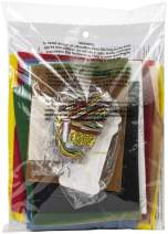 Bucilla Camo Santa Felt Applique Stocking Kit, 18 Inch