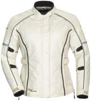 Tour Master Trinity 3.0 Women's Street Racing Motorcycle Textile Jacket - Cream, Medium