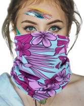 KEEPRONE Neck Gaiter Bandana Scarf Two layer Face Mask Easy Breathe Mouth Covers Reusable