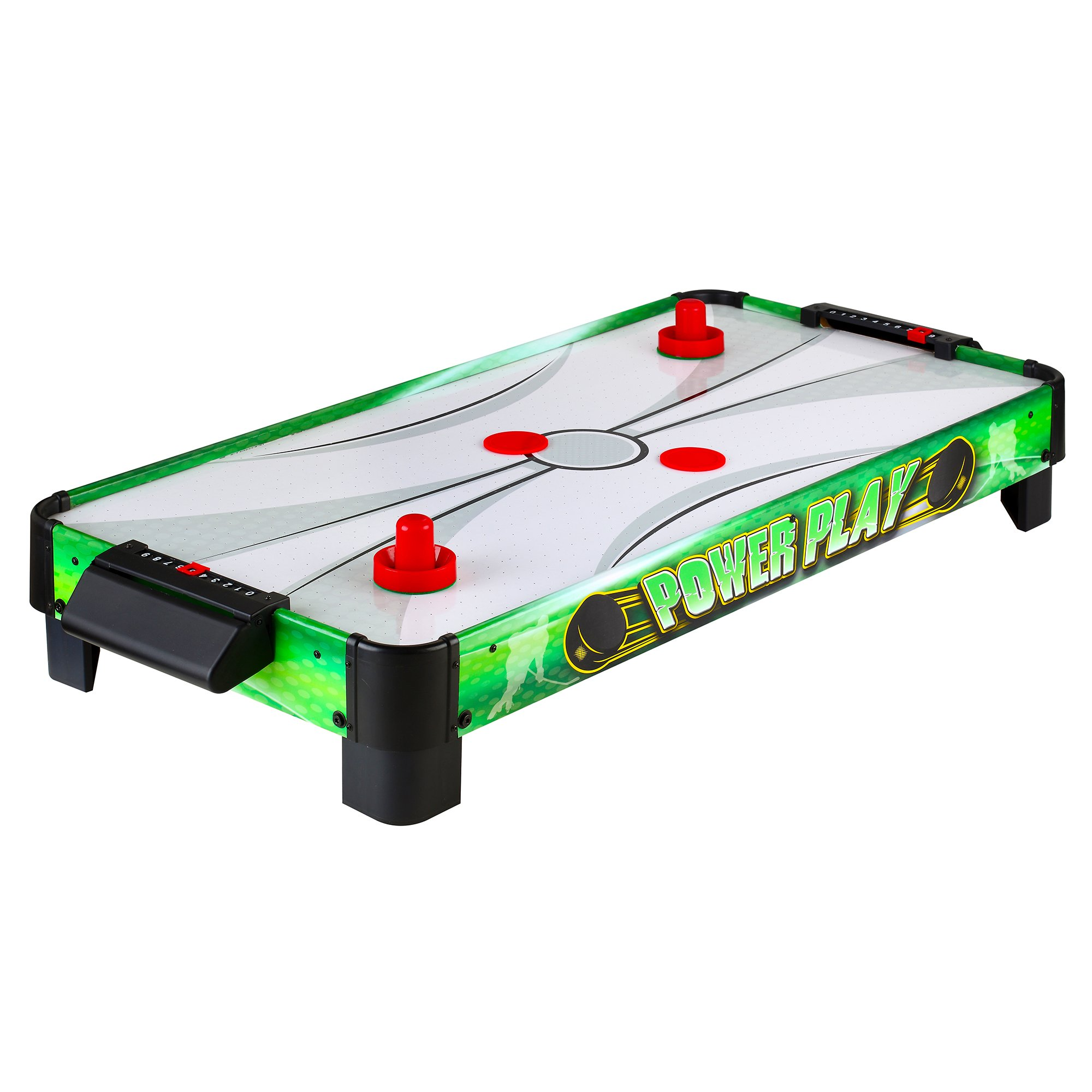 Hathaway Power Play 40-in Portable Table Top Air Hockey for Kids