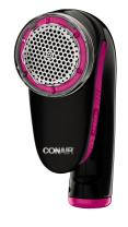 Conair Fabric Defuzzer - Shaver; Battery Operated; Black / Pink