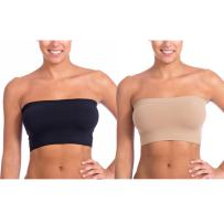 Level 33 Women's Stretch Seamless Tube Top Bandeau (One Size)