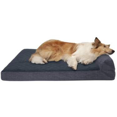 Available in Multiple Colors /& Styles Deluxe Pillow Cushion Chaise Lounge Sofa-Style Living Room Couch Pet Bed w// Removable Cover for Dogs /& Cats Furhaven Pet Dog Bed