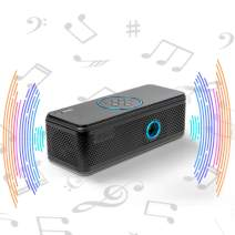 AAXA BP1 Speaker Projector – Bluetooth 5.0, Battery Power Bank, Up to 6 Hour Projection or 24 Hours Playtime, USB C Mirroring, Onboard Media Player, HDMI, DLP Portable Mini LED Projector