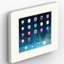 """VidaMount White Home Button Covered Enclosure and Fixed VESA Slim Wall Mount [Bundle] Compatible with iPad 9.7 (5th / 6th Gen), Pro 9.7"""", Air 1/2"""