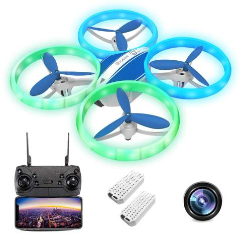 1080P Drones with Camera for Kids and Adults, EACHINE E65HW RC Drone with 1080P Camera for Kids and Adults WiFi FPV Quadcopter with Camera Live Video for Beginners Toys for Boys 8-12