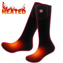 Men Women Electric Battery Heated Socks,Warm Winter Heated Socks,Cold Weather Thermal Insulated Socks for Chronically Cold Feet,Warm Foot Warmer for Camping