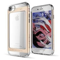 iPhone 7 8 Case, Ghostek Cloak 2 Series for Apple iPhone 8 Slim Protective Armor Case Cover | Tempered Glass Screen Protector | Aluminum Frame | TPU Shell | Durable | Warranty | Ultra Fit (Gold)
