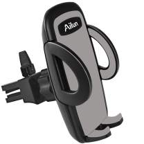 Ailun Car Phone Mount Air Vent Holder Cradle for iPhone 11/11 Pro/11 Pro Max/X Xs XR Xs Max 7 8 Plus Galaxy s20, s20+ S20Ultra S10 S9 S8 Plus Note 10 Google LG and More Smartphones Black