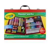 Crayola Masterworks Art Case, Over 200 Piece, Gift for Kids, Age 4, 5, 6, 7