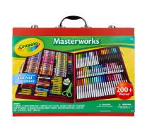 Crayola Masterworks Art Case, Over 200 Piece, Gift for Kids, Age 4, 5, 6, 7
